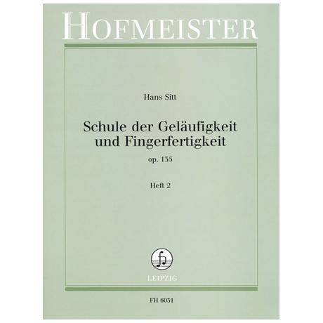 Sitt, H.: Schule der Geläufigkeit Op. 135 Band 2