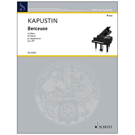 Kapustin, N.: Berceuse Op. 65 (1991)