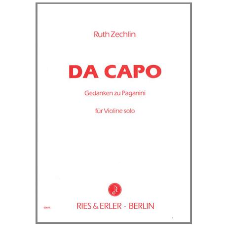 Zechlin, R.: Da Capo — Gedanken zu Paganini