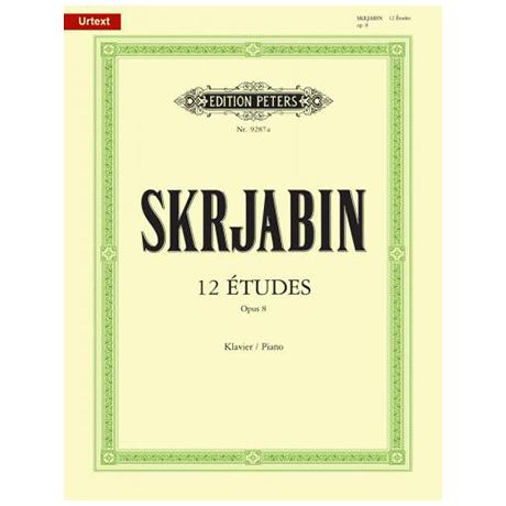 Skrjabin, A.: Etüden Op. 8