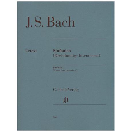 Bach, J. S.: Sinfonien (Dreistimmige Inventionen) BWV 787-801