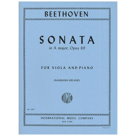 Beethoven, L. v.: Violasonate A-Dur Op. 69