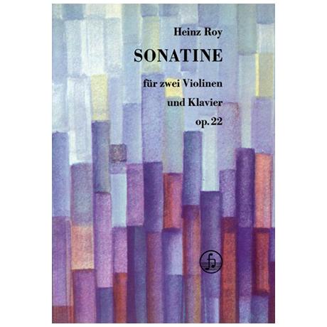 Roy, H.: Sonatine Op. 22