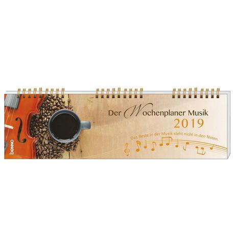 »Der Wochenplaner Musik« Kalender 2019