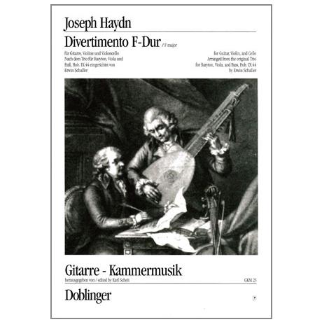 Haydn, J.: Divertimento F-Dur Hob. IX: 44