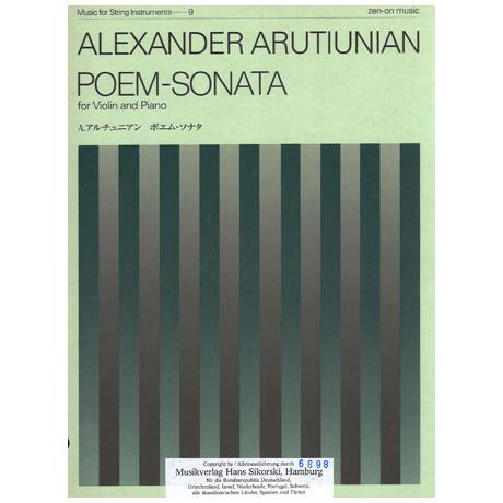 Arutjunjan, A.: Poem-Sonata