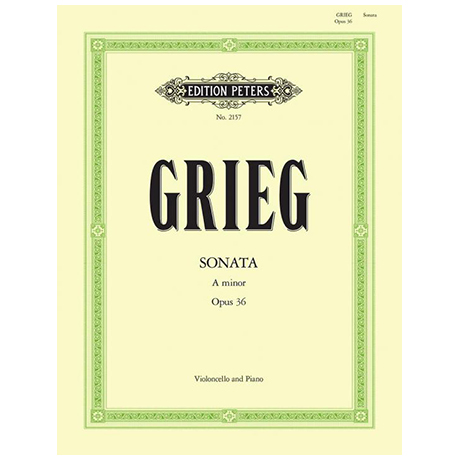Grieg, E.: Cellosonate a-moll Op.36