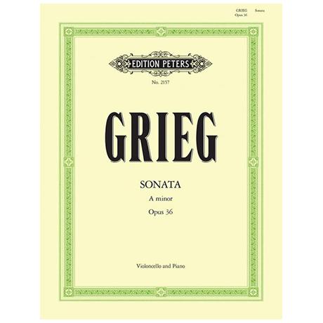 Grieg, E.: Cellosonate a-moll Op.36