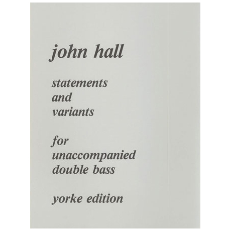 Hall, J.T.: Statements and Variations