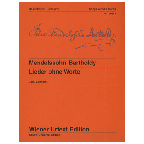 Mendelssohn, B. F.: Lieder ohne Worte