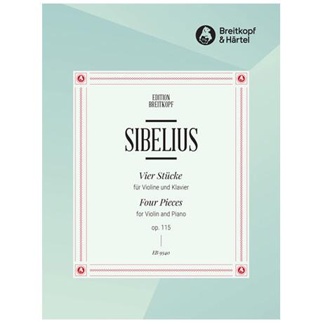 Sibelius, J.: Vier Stücke Op. 115
