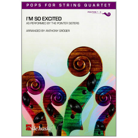 Pops for String Quartet - The Pointer Sisters: I'm so excited