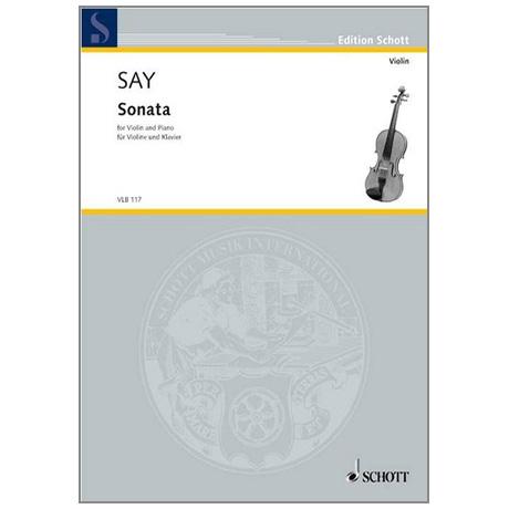 Say, F.: Violinsonate Op. 7