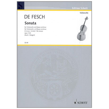 Fesch, W.d.: Sonata Op.13 Nr.4 d-moll