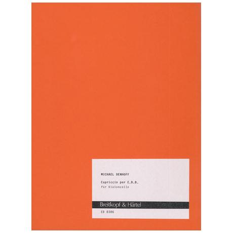 Denhoff, M.: Capriccio per E.B.B.