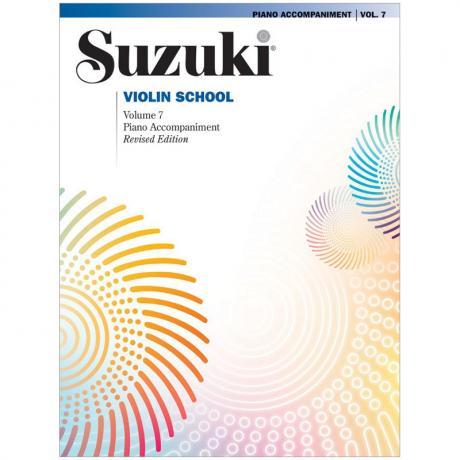 Suzuki Violin School Vol. 7 – Klavierbegleitung