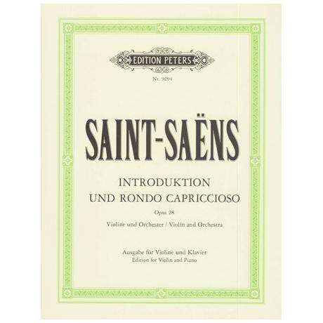 Saint-Saëns, C.: Introduktion und Rondo capriccioso Op. 28 a-Moll