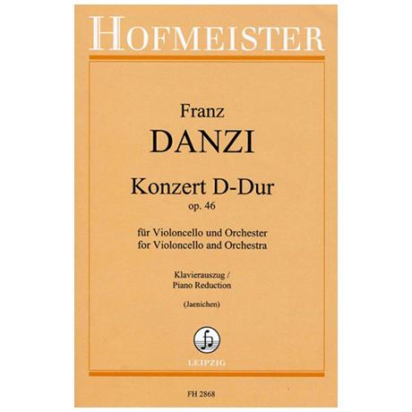 Danzi, F.: Violoncellokonzert Op. 46 D-Dur