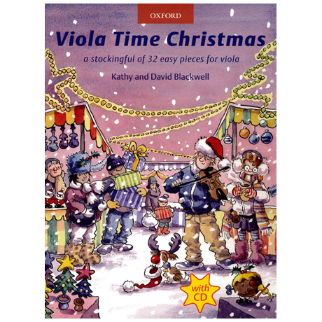 Blackwell: Viola Time Christmas (+CD)
