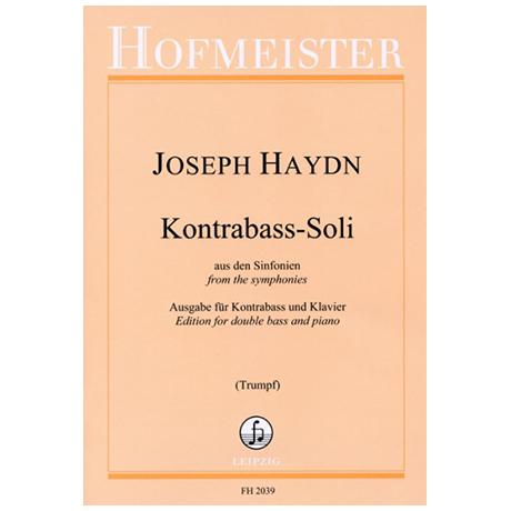 Haydn, J.: Kontrabass-Soli aus den Sinfonien