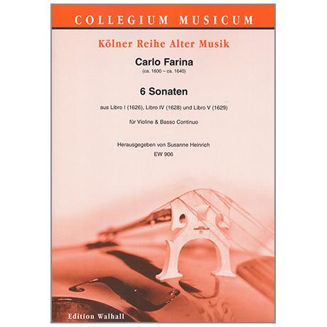 Farina, C.: 6 Violinsonaten