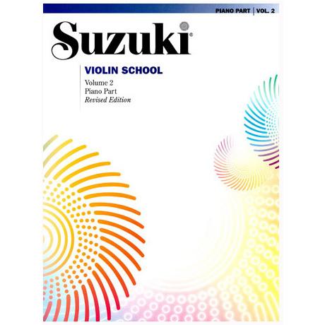 Suzuki Violin School Vol. 2 – Piano Accompaniment