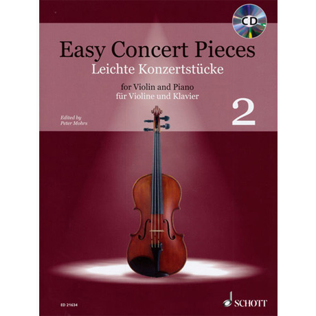Mohrs, P.: Easy Concert Pieces Band 2 (+CD)