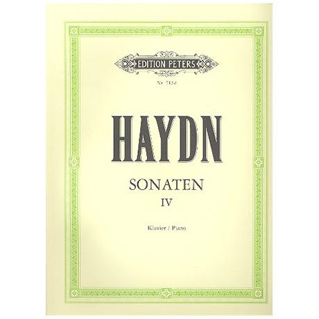 Haydn, J.: Sonaten Band IV