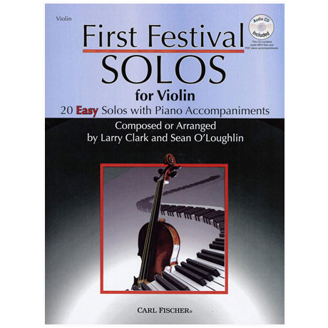 Clark, L./O'Loughlin: First Festival Solos (+CD)