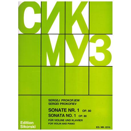 Prokofjew, S.: Violinsonate Nr. 1 Op. 80