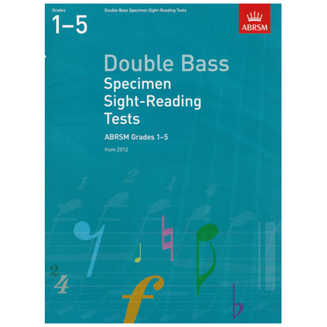 ABRSM: Double Bass Specimen Sight-Reading Tests - Grades 1-5 (From 2012)