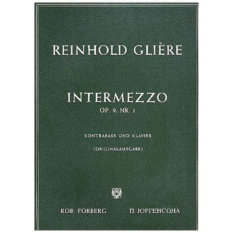 Glière, R.M.: Intermezzo Op.9/1