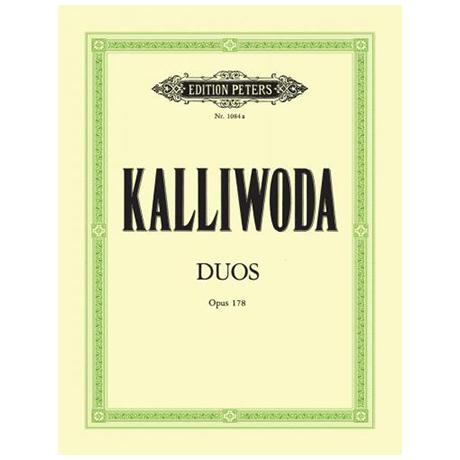 Kalliwoda, J. W.: 3 sehr leichte Duette Op. 178