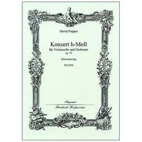 Popper, D.: Konzert Op. 72 h-Moll