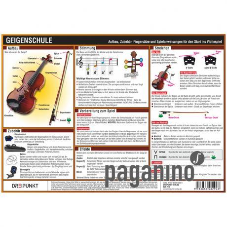 Infotafel: Geigenschule