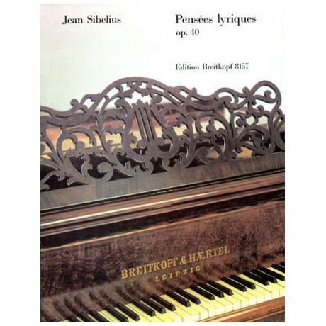 Sibelius, J.: Pensées lyriques Op. 40