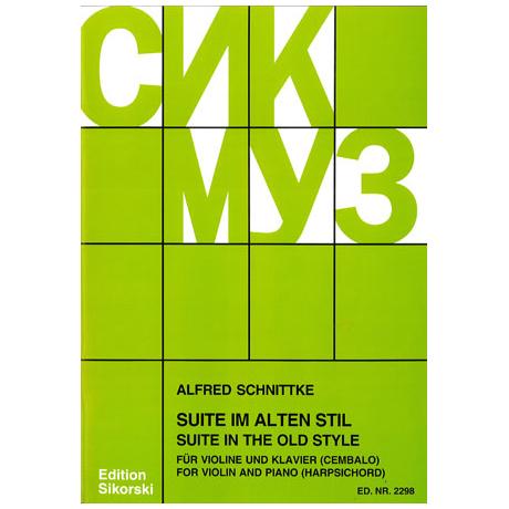 Schnittke, A.: Suite im alten Stil