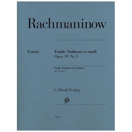 Rachmaninow, S.: Étude-Tableau Op. 39 Nr. 5 es-Moll