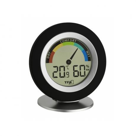 PACATO Style Thermo-Hygrometer schwarz