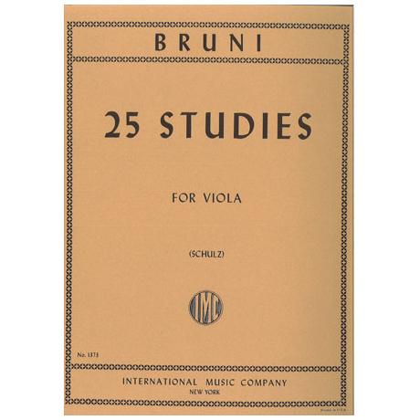 Bruni, A.: 25 Etüden