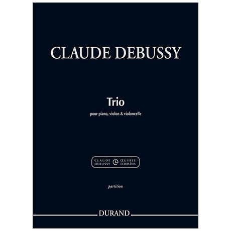 Debussy, C.: Klaviertrio – Klavierstimme