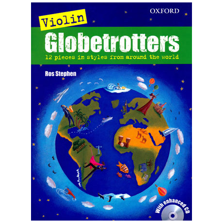 Stephen, R.: Violin Globetrotters (+CD)