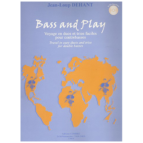 Dehant, J.-L.: Bass and Play (+CD)