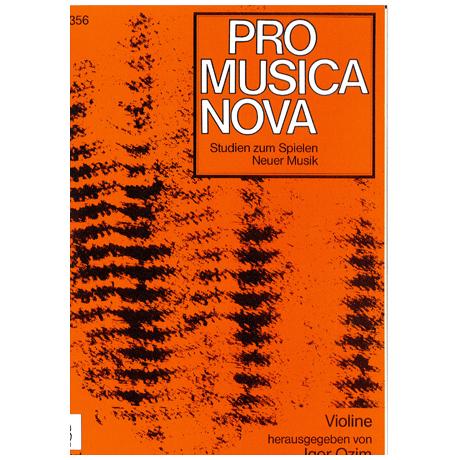 Ozim, I. (Hrsg.): Studien zum Spielen Neuer Musik für Violine solo