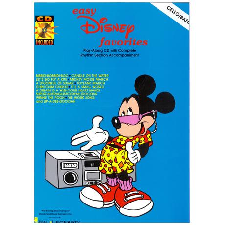Easy Disney Favorites (+CD)