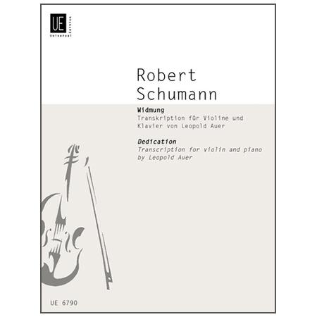 Schumann, R.: Widmung