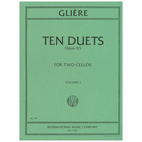 Glière, R.: 10 Duette Op. 65 Band 1 (Nr. 1-5)