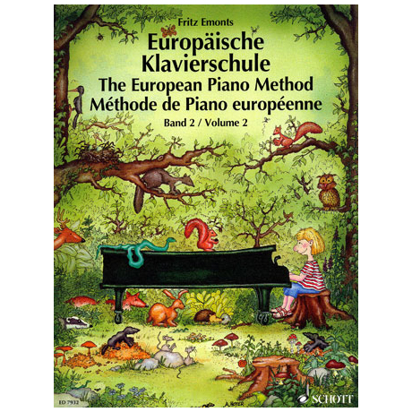 Emonts: Europäische Klavierschule Band 2