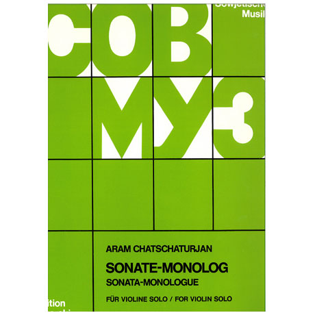 Chatschaturjan, A.: Sonate - Monolog