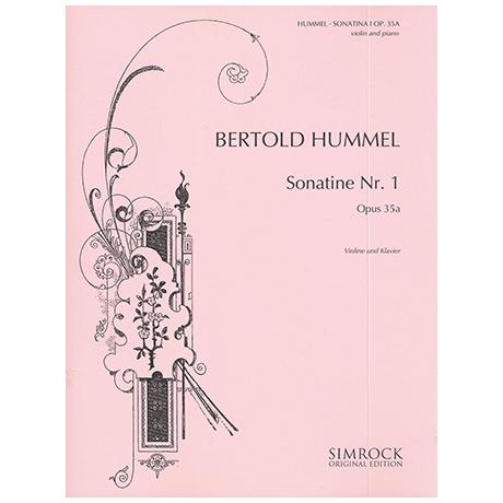 Hummel, B.: Sonatine Op.35a